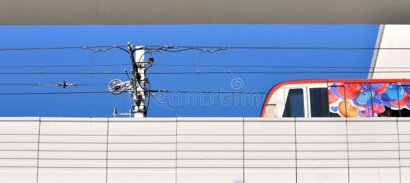 Download Light Railway Train On Running Stock Image - Image: 25688293