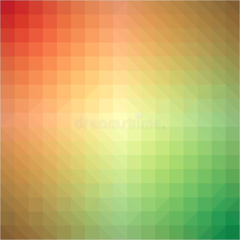 Light rainbow triangle gradient background royalty free illustration