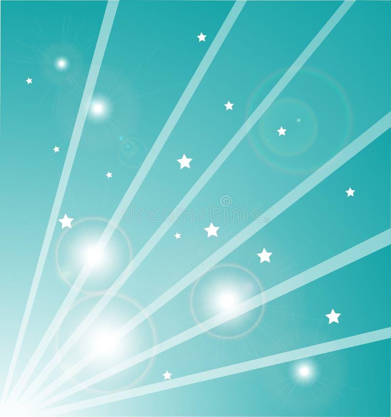 light rays stars ελεύθερη απεικόνιση δικαιώματος