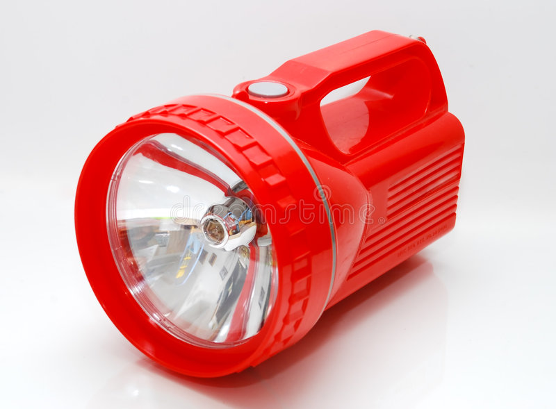 light red torch στοκ εικόνα με δικαίωμα ελεύθερης χρήσης