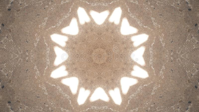 Light reflection on the floor royalty free stock image