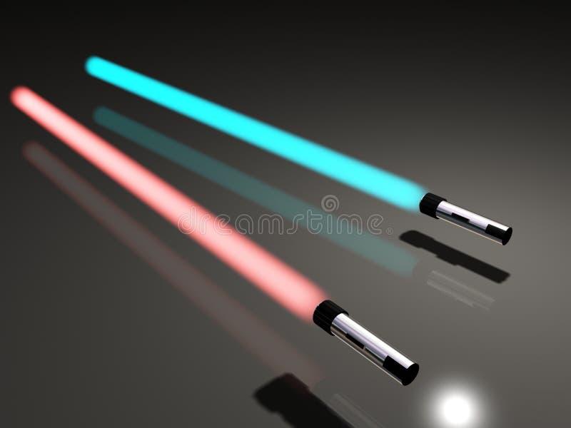 Light saber vector illustration
