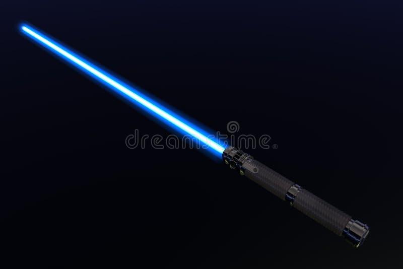 Light saber stock illustration