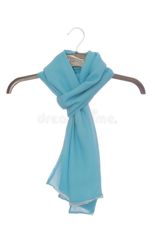 Light scarf royalty free stock photography