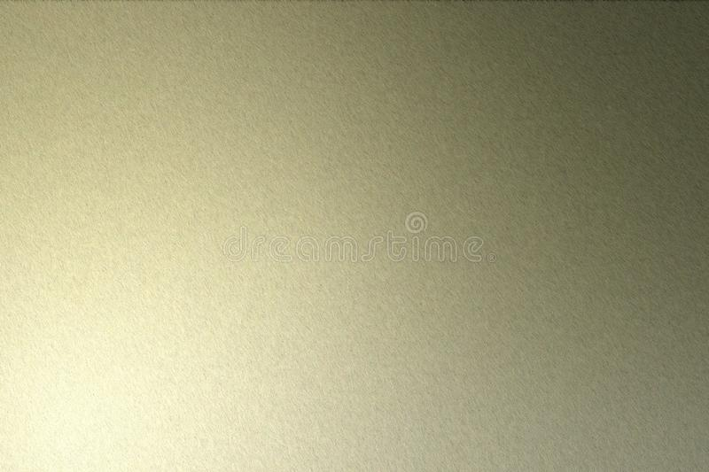 Light shining on rough dark brown steel wall texture, abstract background vector illustration