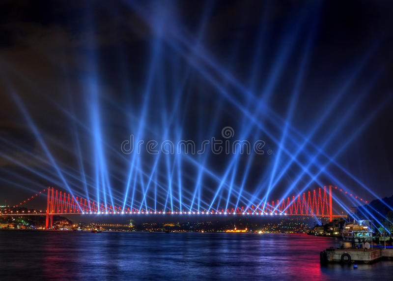 Light Show stock images