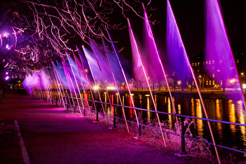 Download Light show stock image. Image of scenes, show, reflection - 28390605