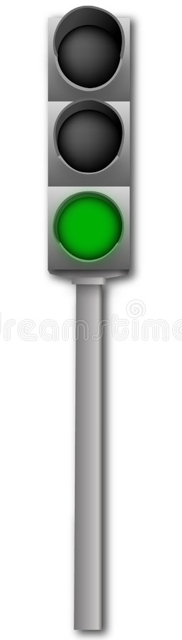 Free Light Signal Royalty Free Stock Photography - 384137