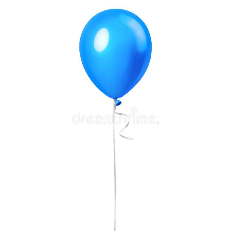 Light sky blue balloon stock images