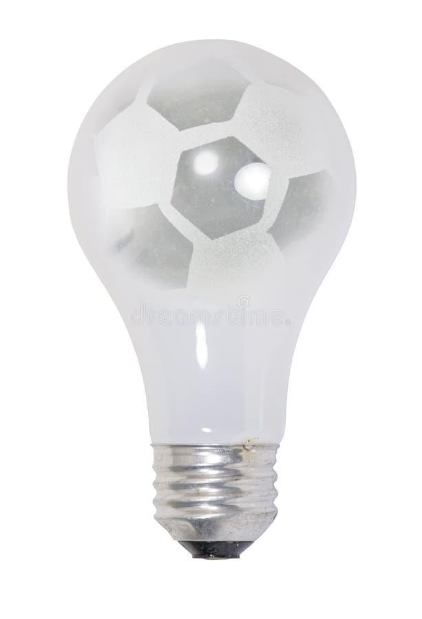 Light on Soccer stock photo