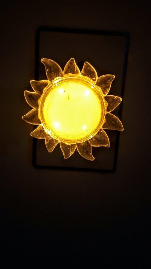 Light. Sol em miniatura stock photos