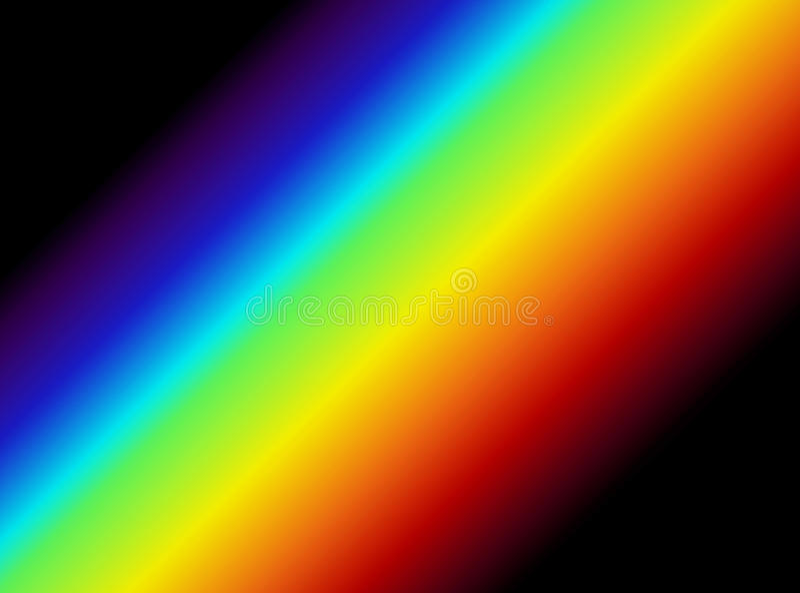 Light Spectrum Graphic vector illustration