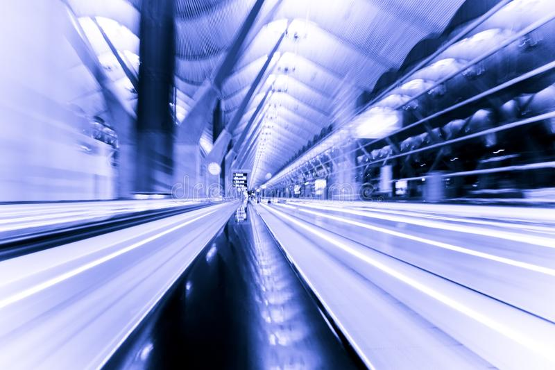 Light speed royalty free stock images