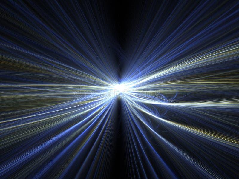 Download Light speed blur stock illustration. Image of render, blur - 4617492