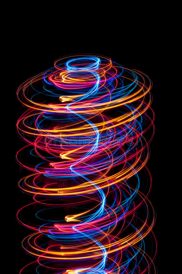 Free Light Spiral Royalty Free Stock Photos - 17258918