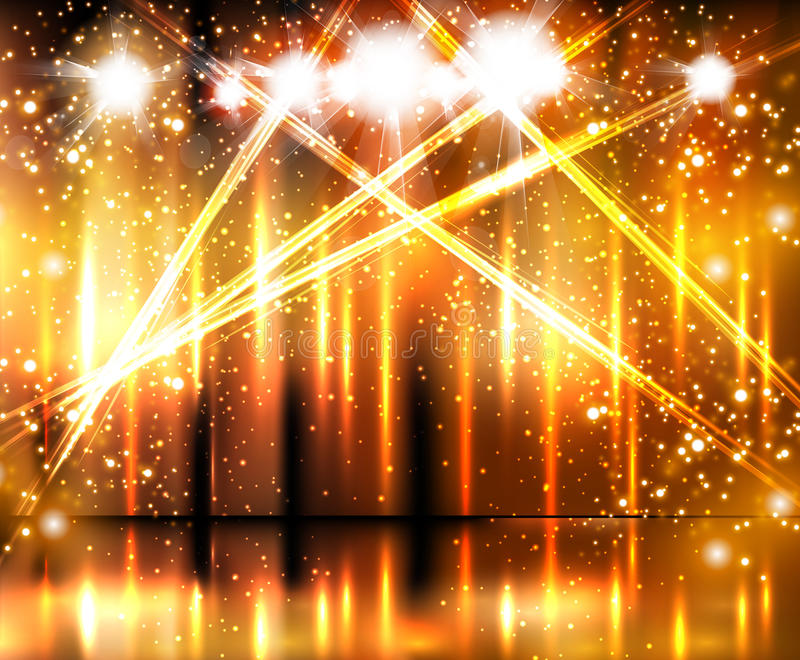 Light Stage Background Royalty Free Stock Photography