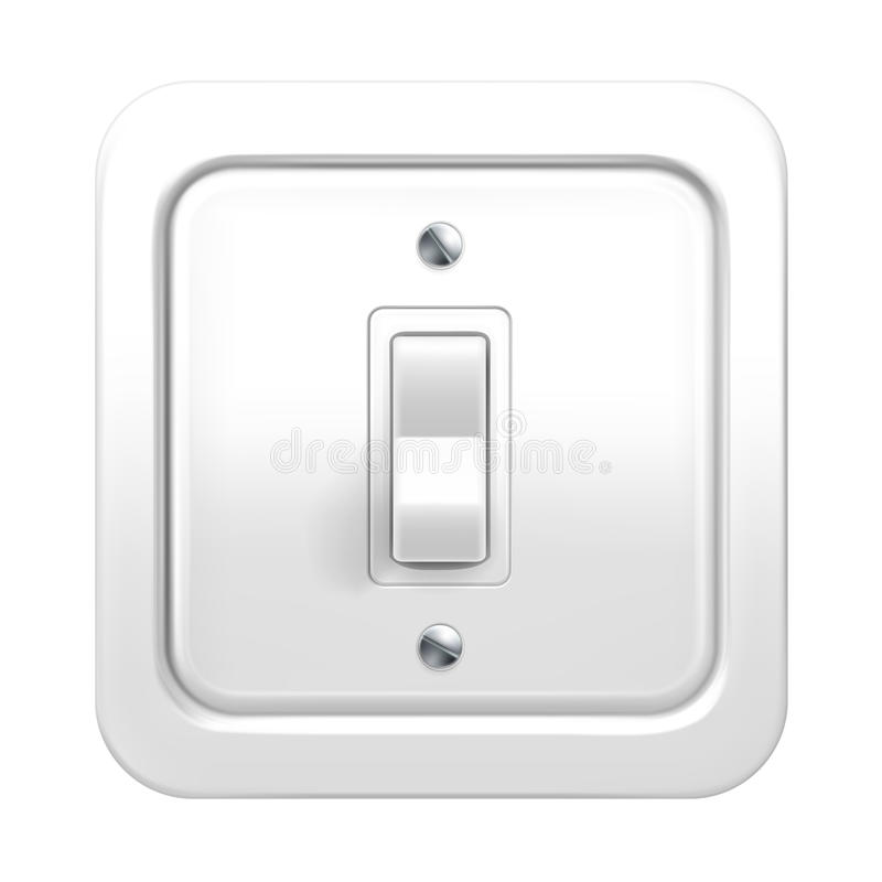 Download Light switch stock vector. Image of concept, electricity - 21919158