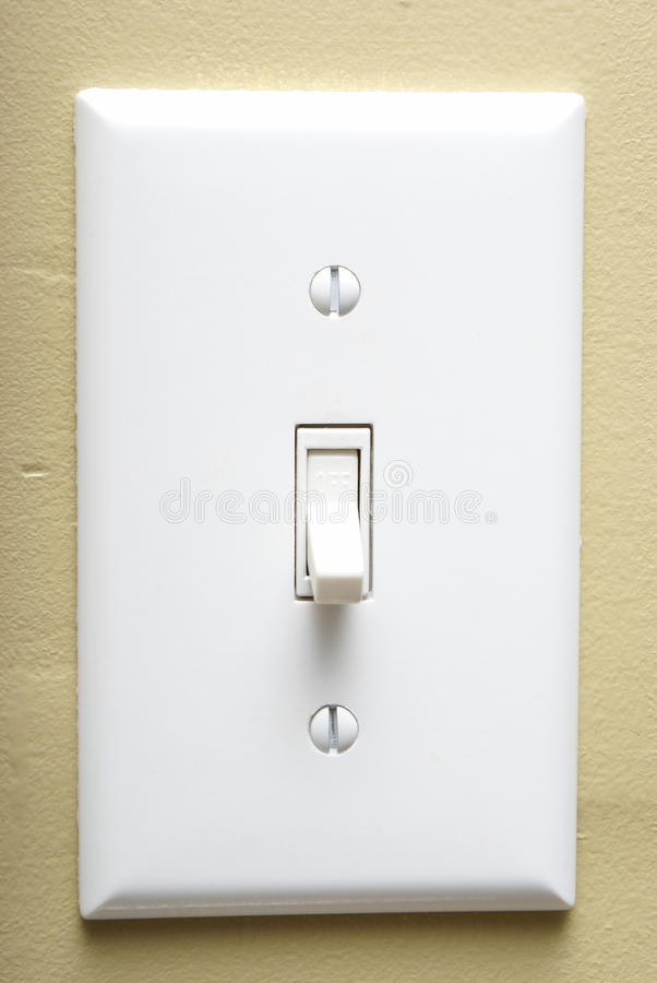 Free Light Switch Royalty Free Stock Photography - 23387827