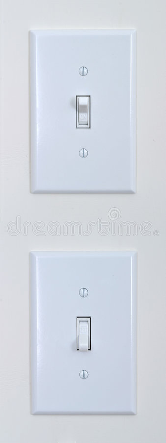 Free Light Switch Royalty Free Stock Image - 4045366