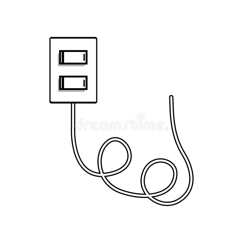Download Light Switch Icon Stock Vector Illustration Of Isolated