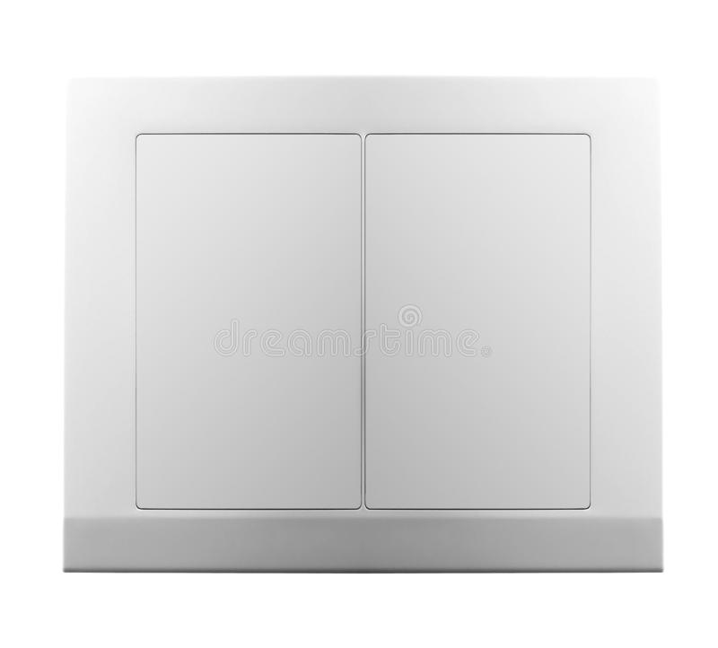 Light switch isolated stock images