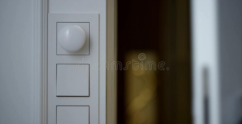 Light switches. royalty free stock photos