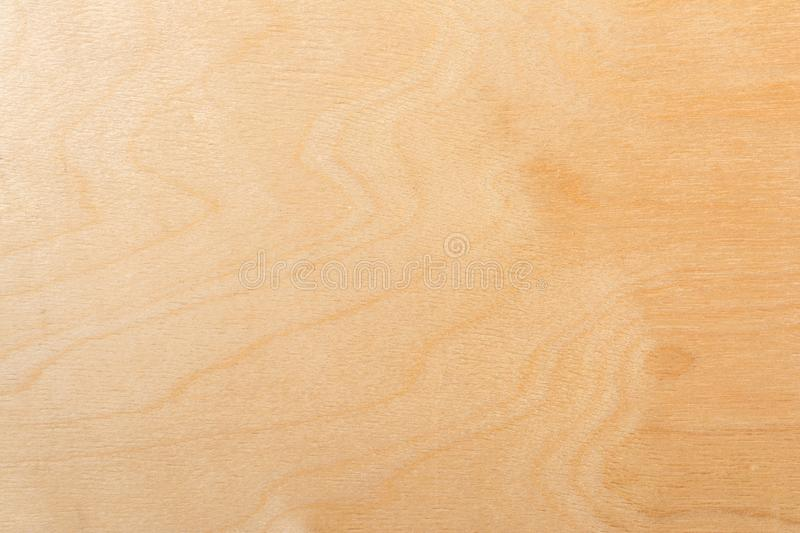 Light texture of birch plywood, abstract background. Light texture of birch plywood, close-up abstract background royalty free stock photos