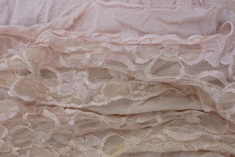 Light texture of a piece of cloth curtains royalty free stock photo