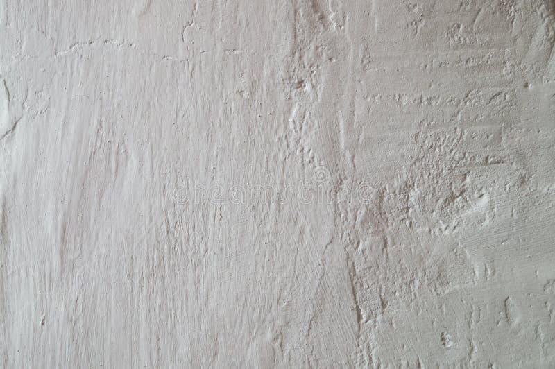 Light textured plaster stock photo