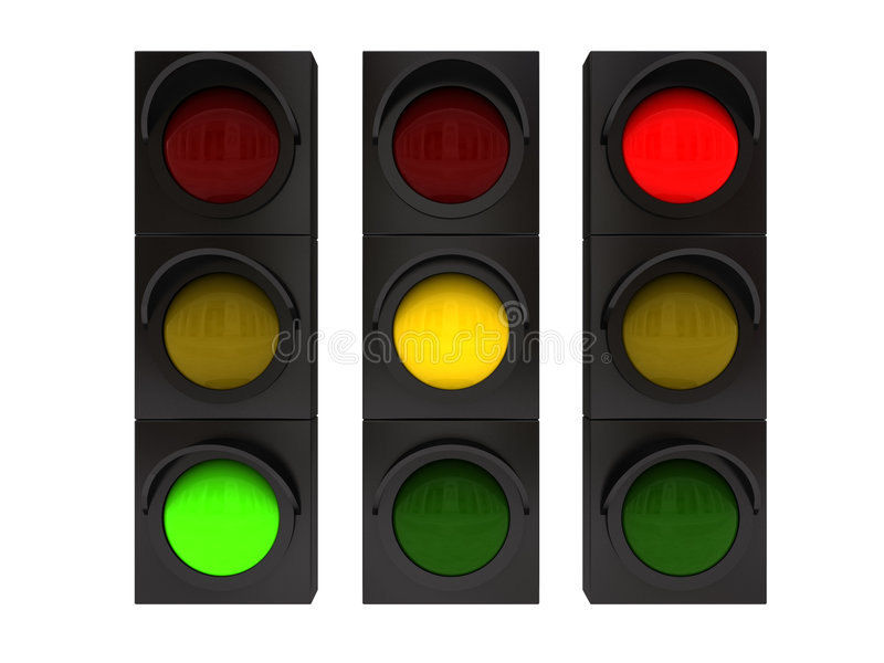 light traffic απεικόνιση αποθεμάτων