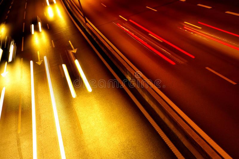 Download Light Trails stock image. Image of blur, night, fast - 10177479