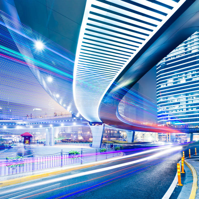 Download Light trails stock image. Image of road, driving, night - 16109533