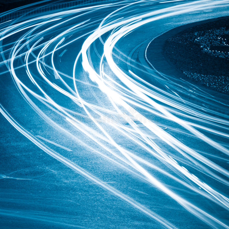 Download Light trails stock photo. Image of architecture, road - 22485880