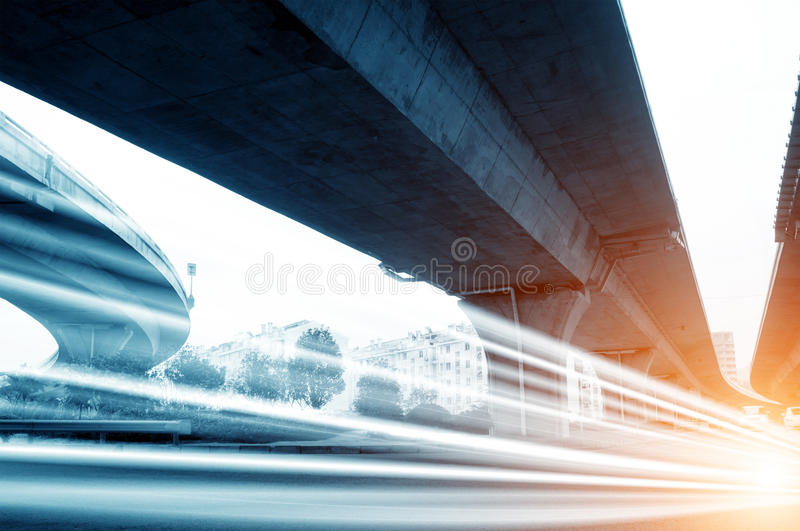 Download The light trails stock photo. Image of accelerate, dark - 25613638