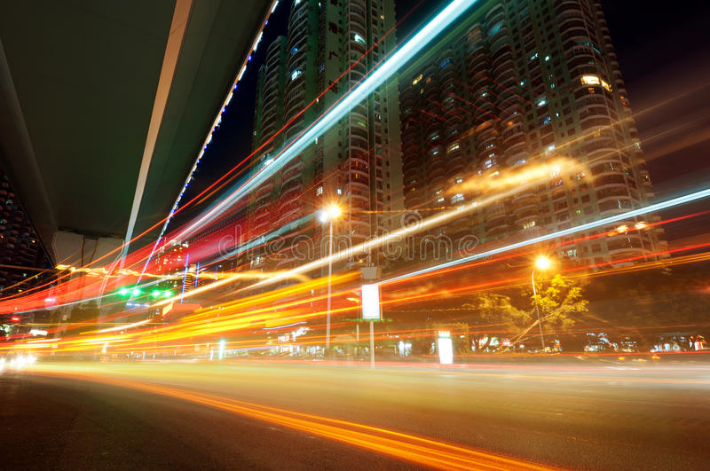 Download Light trails stock image. Image of blur, abstract, fast - 26082763