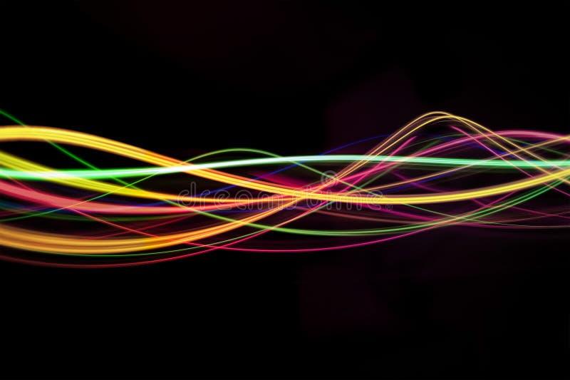 Light waves stock photography