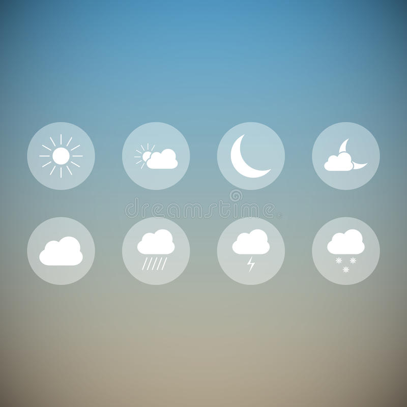 Light weather icons