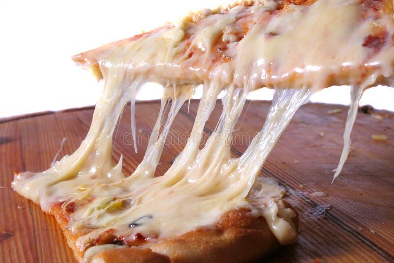 Light white Pizza stock image