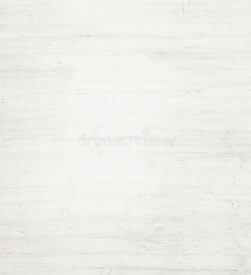 Light white wooden plank, tabletop, floor surface or cutting board. stock image