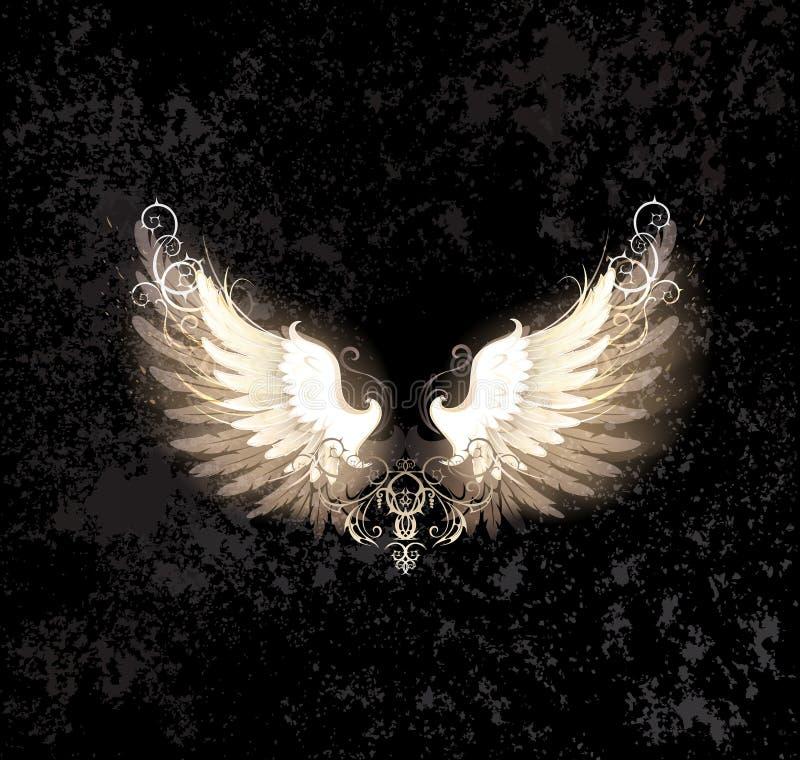 Light wings vector illustration