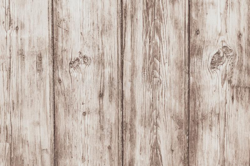 Light wood fence. Texture of wooden boards. Antique oak boards. Plank - timber. Vintage wooden desk, surface. Natural color. Old royalty free stock photo
