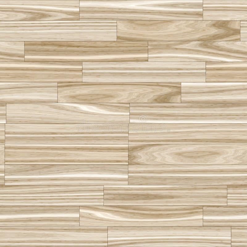 Light Wood Grain Parquet stock illustration