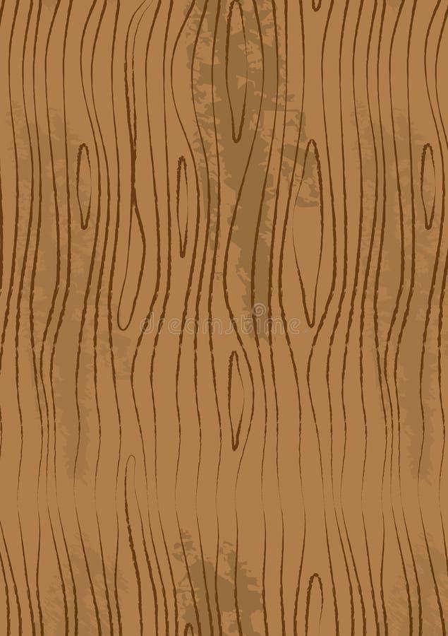 Light Wood Pattern stock illustration