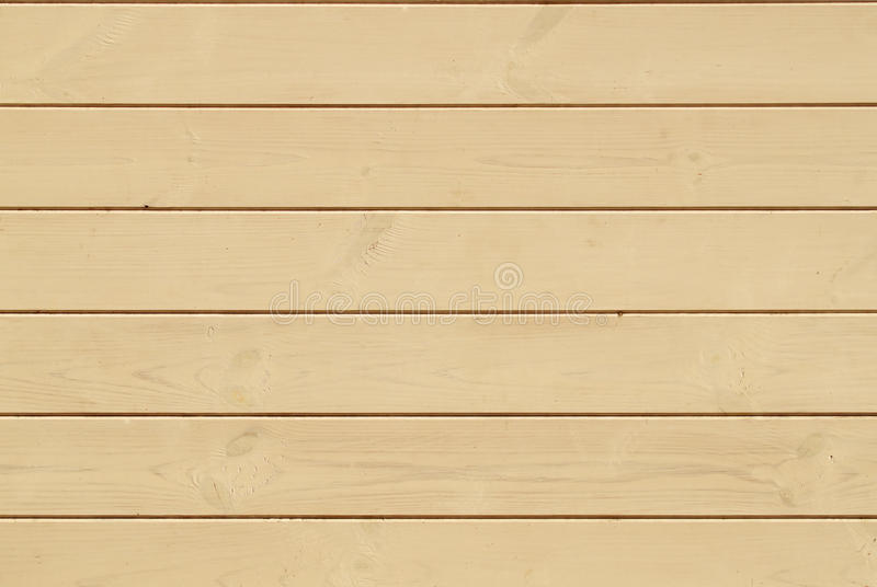 Light Wooden horizontal Wall Planking Texture. Solid Wood Slats. Rustic Background. Horizontal Wood Board Panel royalty free stock image
