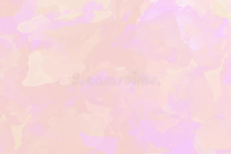 Light yellow pink and purple watercolor background vector illustration