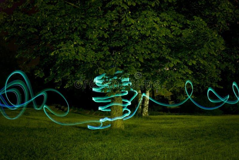 Light zigzag stock image