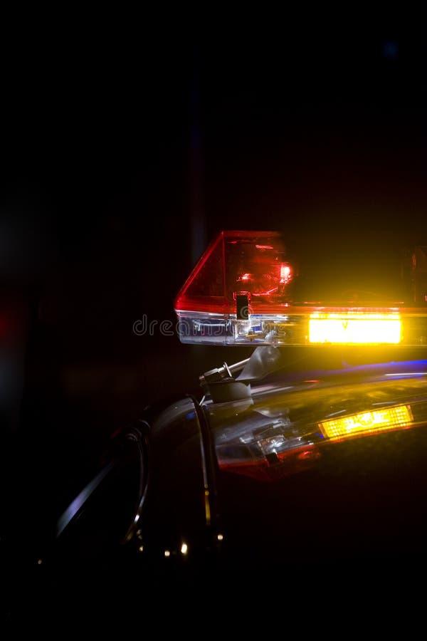 lightbar polis arkivfoto