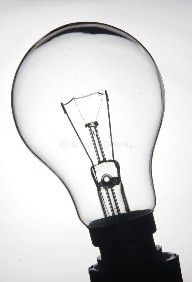 lightbulb λευκό στοκ φωτογραφία με δικαίωμα ελεύθερης χρήσης