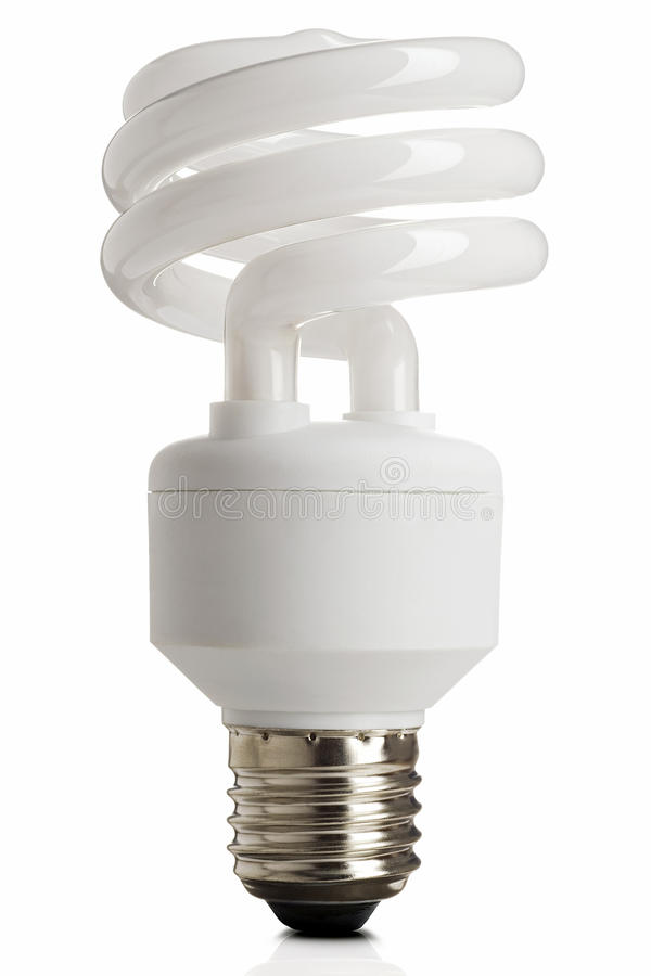 Download Lightbulb stock image. Image of lightbulb, isolated, saving - 10863497