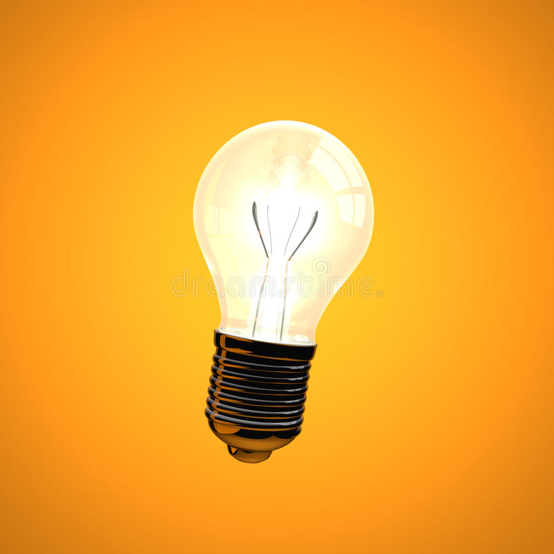 Lightbulb stock illustration